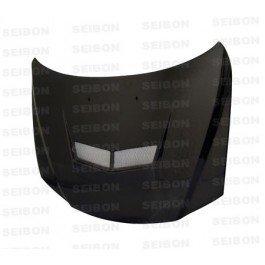 SEIBON VSII-style carbon fiber hood > 2003-2006 Mazda 6 (Hood Seibon Carbon Vsii Fiber)