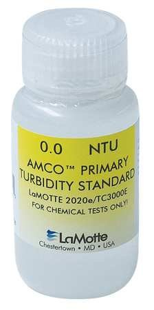 LaMotte 1452 Turbidity Standard (EPA) for 2020WE/TC3000WE/LTC3000WE Turbidity Meter, 100 NTU, 60ml Volume