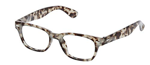 Peepers Unisex-Adult Clark 2590100 Square Reading Glasses, Gray Tortoise, 1 from Peepers