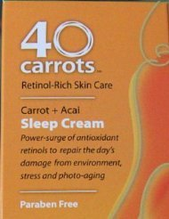 40 Carrots Skin Care Products