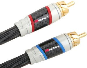 Monster Cable M850 I-4 1.2m RCA RCA Negro cable de audio - Cables