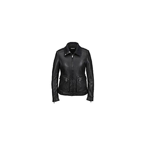 Porsche Design Leather Jacket Ladies S Black