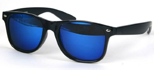 Outray Retro Sunglasses for Men or Women- Classic Style,One Size,Black.Blue