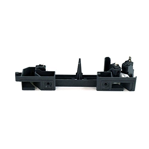 Samsung DE96-00414D Microwave Door Interlock Support Genuine Original Equipment Manufacturer (OEM) part (Microwave Interlock Switch)