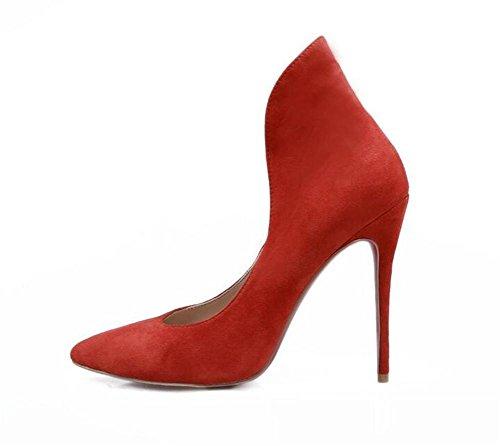 Tacco 38 Belle XIE a Women Alto banchetti Red Punta 's RED Scarpe 40 sposa da Punta Scarpe a xBBZEYng4