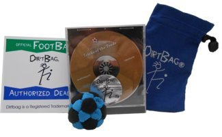 Dirtbag Combo Special - Footbag/Hacky Sack Gift Pack/Starter Kit by DirtBag