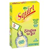 Squirt Singles to Go Sugar Free Drink Mix Packets (6 Boxes) 6 Packets Per Box