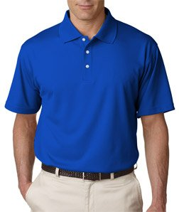 UltraClub Mens Cool /& Dry Stain-Release Performance Polo