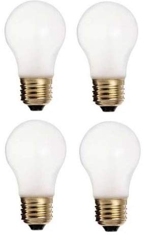 Ciata Lighting 60 Watt, 570 Lumens A15 Frosted Incandescent Bulbs, appliances, Wall Lighting 4 Pack Frosted (Bulb Incandescent Light A15)