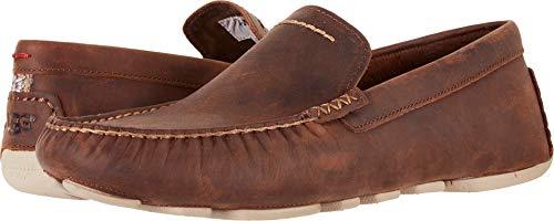 UGG Men's Henrick Slip-On Loafer, RED Clay, 13 M US (Ugg Slip Ons Mens)