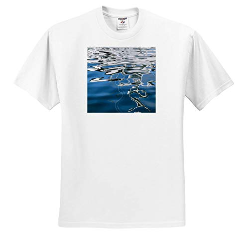 (3dRose Danita Delimont - Abstracts - USA, California, San Diego, Abstract Boat Reflection. - Youth T-Shirt XS(2-4) (ts_314594_11) White)