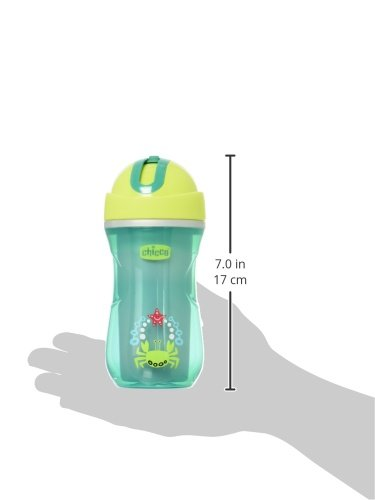 Chicco NaturalFit Insulated Flip Top Straw Sippy Cup, in Assorted Colors, 9 Ounce, 2 Count 00006992300070