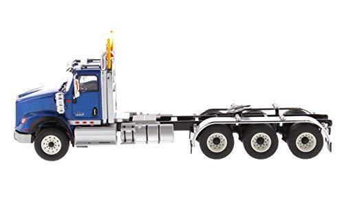 International HX620 Day Cab Tridem Tractor Blue 1/50 Diecast Model by Diecast Masters 71010