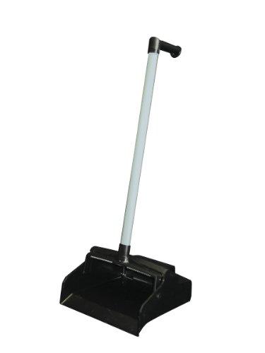 (Impact 2602 Black Plastic Lobby Dust Pan with