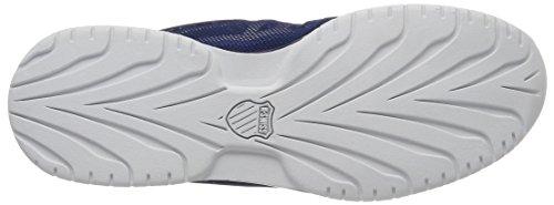 K-Swiss Rinzler Trainer, Scarpe da Ginnastica Basse Uomo Blu (Ensign Blue/Allure/White)