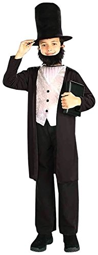 [Kids Abraham Lincoln Costume - Small] (Women In History Costumes)