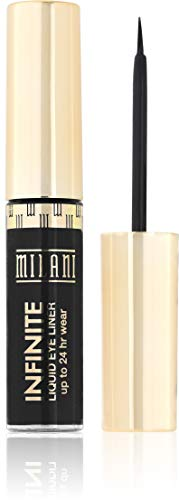Milani Infinite Liquid Eyeliner - Everlast (0.17 Fl. Oz.) Vegan, Cruelty-Free Liquid Eyeliner to Define & Intensify Eyes for Up to 24 Hours Animal Free Makeup Brush Eyeliner