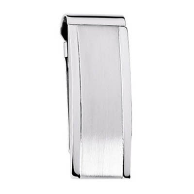 Contour Money Steel Steel Clip Wallet Stainless Tone Two Contour Colibri Stainless Colibri RnIwzwq6