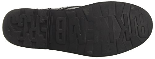 BIKKEMBERGS Damen Vintage 415 Springerstiefel Nero (Black)