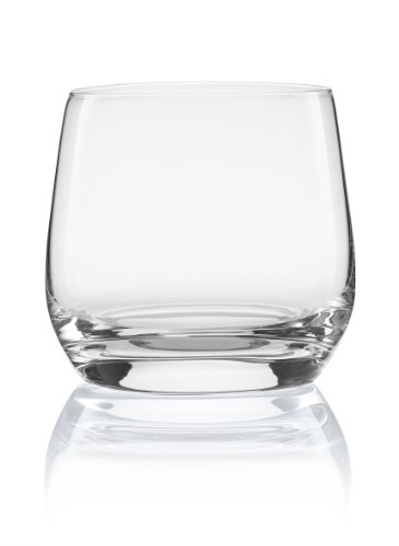 Pure and Simple Sip Double Rocks Glass, 12.5-Ounce, Set of 4 -