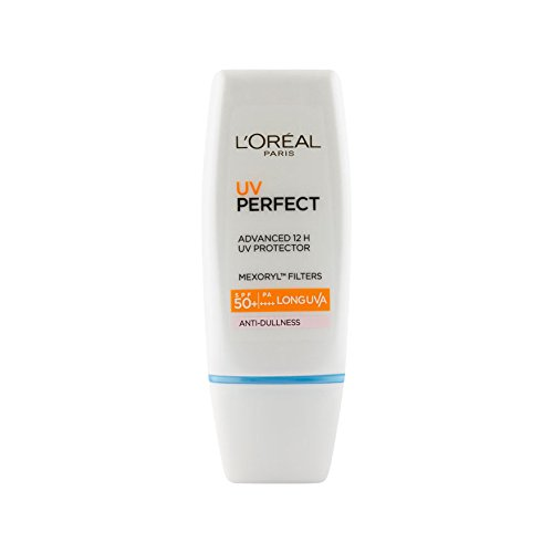 L'Oreal UV Perfect SPF 50 Anti Dulness ( Purple ) 30ml (W) (California Tan Lip)