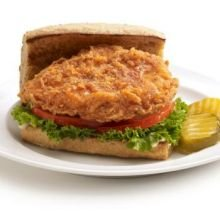 Tyson Red Label Select Cut Hot N Spicy Breaded Chicken Breast Portioned Filet, 3.5 Ounce - 2 per case. - Chicken Breast Fillet