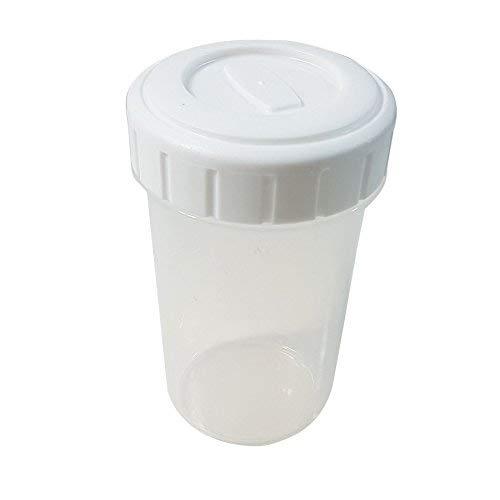 Blanco 0,4 L vaso sin BPA apta para lavavajillas Congelador se ...