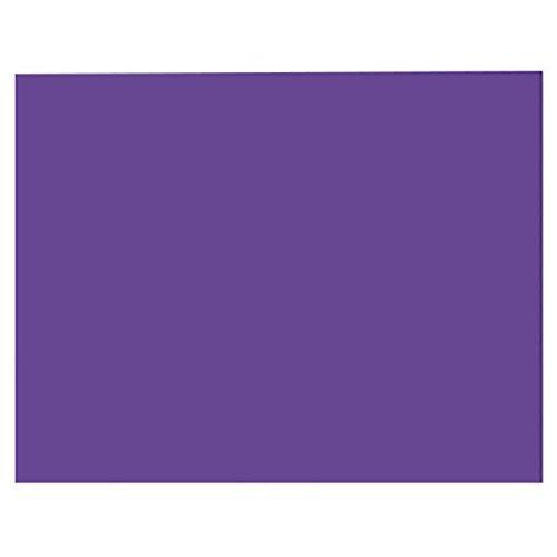 TableTop King 54481 Peacock 28'' x 22'' Purple 4-Ply Railroad Board - 25/Case