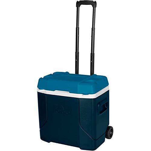Blue Igloo (Igloo Profile 30 Quart Roller - Blue/White/Teal, Blue, N/A)