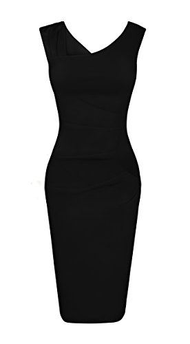 Fancyskin Women's Cocktail Dress Sleeveless Slim Bodycon Dress Business Pencil Dress by Fancyskin