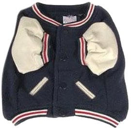 Sporty K9 Boston Red Sox Varsity Dog Jacket, XX-Small, My Pet Supplies