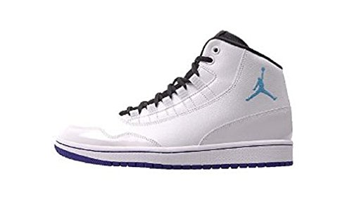 Nike Jordan Executive Basketbalschoen Heren Wit / Blauw Lagune Verdrag Zwart (10)