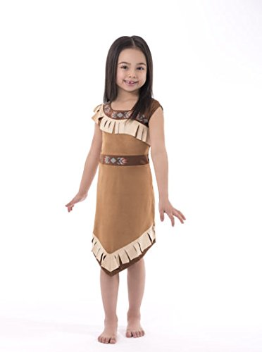 Little Adventures Native American Princess Dress Up Costume for Girls - X-Large (7-9 (Sacagawea Costumes For Kids)