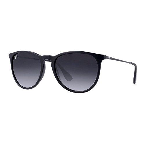 Ray Ban Erika RB4171 622/8G Black/Light Grey Gradient 54mm Sunglasses