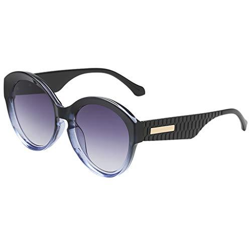 Tomppy Retro Round Sunglasses for Women UV Protection Gradient Tinted Lenses Eyewear Outdoor Sports Polarized Sun ()