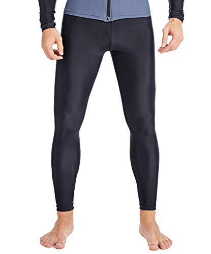 SABOLAY Men Swim Legging Quick Dry Dive Skin UPF 50 Wetsuit Pants