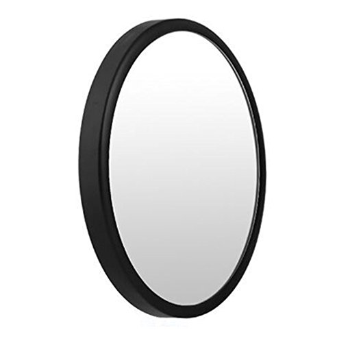 fication makeup mirror Portable mirror Facial beauty mirror Carry small mirror to pull acne to blackhead-C 8cm(3inch) (Shaving Mirror Pull)