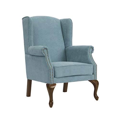 (Source One A345-805812 Lynndale Arm Ocean Wingback, Accent Chair)