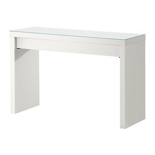 Ikea Dressing Table, White, 47 1/4 X 16 1/8 X 30 3/4, Depth Of Drawer: 13  3/8, MALM 102.036.10