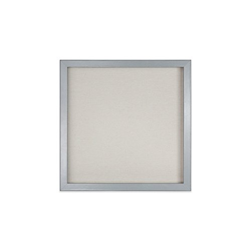 EDGEWOOD Parkwood Gray 12x12 Shadow Box Frame for Memorabilia, Scrapbooking, Keepsake (Shadow Scrapbook Box)
