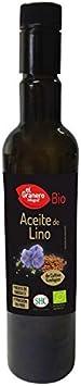 ACEITE DE LINO BIO 1ª PRESION, 500 ml