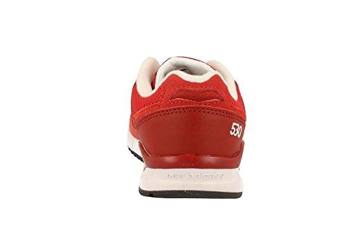 ZAPATILLA NEW BALANCE KL530 RXG ROJO Blanco-Rojo-Rojo burdeos