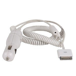 Belkin 12V Car Power Adapter for iPod (Belkin 12vdc Power Adapter)