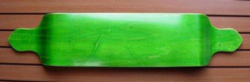 Green Drop Down Lowrider Downhill Longboard Skateboard Deck