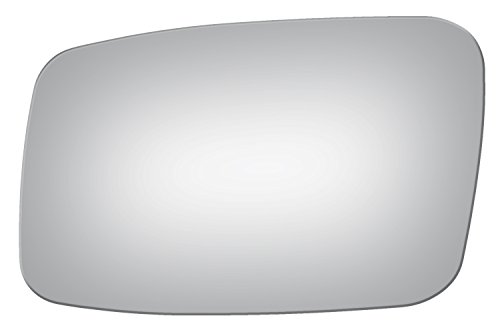 Burco 2851 Flat Driver Side Replacement Mirror Glass for Volvo 850, C70, S40, S70, V40, V70 (1993, 1994, 1995, 1996, 1997, 1998, 1999, 2000, 2001, 2002, 2003, 2004) (S40 Volvo Car Driver)