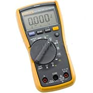 Fluke 117 Compact True-RMS Electrician's Digital Multimeter with Non-Contact Voltage-2PK