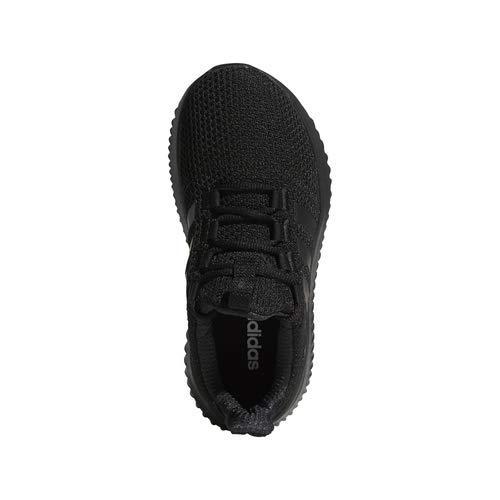 adidas Kids' Cloudfoam Ultimate, Black/Black/Black, 1 M US Little Kid by adidas (Image #6)