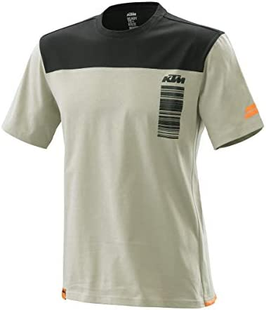 NEW 2020 KTM PURE STYLE TEE GREY SMALL