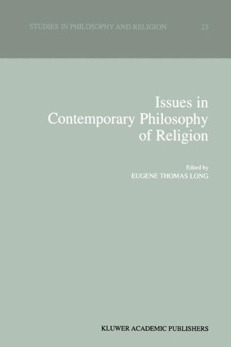 Download Issues in Contemporary Philosophy of Religion (Studies in Philosophy and Religion) Pdf