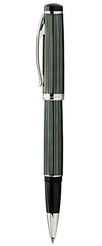 Xezo Diamond Cut Gel Ink Rollerball Pen (Incognito Zinc R) by Xezo (Image #1)